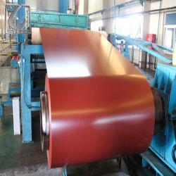 PPGI Prepainted Cor da bobina de aço revestido de bobina para material de construção