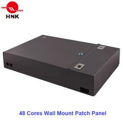 24/48-Cores Distributie Fiber Optic Patch Panel Voor Wandmontage