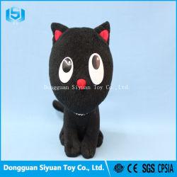 De Leuke Dierlijke Zachte Gevulde Zwarte Kat van uitstekende kwaliteit van het Stuk speelgoed van de Pluche