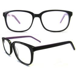 Новые разработанные очки прямоугольной рамки ацетат очки
