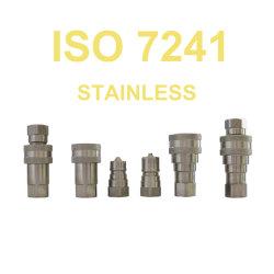 ISO B usine accouplement rapide d'alimentation Raccords eau en acier inoxydable