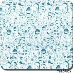 Film imprimé hydrographique Drop hydro graphique Image de film de liquide