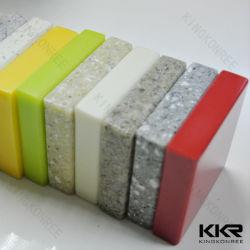 Кухня ванная комната бар Couner верхней части строительных материалов полимера искусственного камня твердой поверхности акрилового волокна