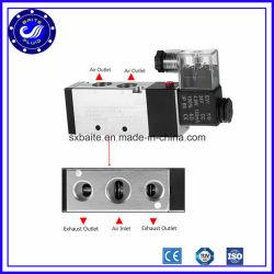 安い4V310-10 24V DCの空気制御の空気ソレノイド弁
