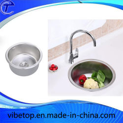 Handgefertigter Kitchen Sink Single Bowl Edelstahl