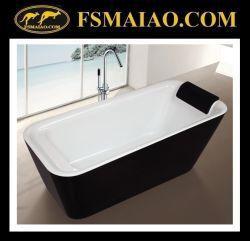سهولة التركيب حوض استحمام منفصل لحمام الأكريليك مع وسادة (9011)