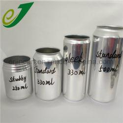 Les cannettes vides personnalisé canettes en aluminium
