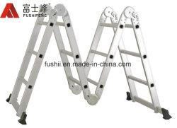 Алюминиевые универсального шарнира 4.7m складные удлинитель лестницы