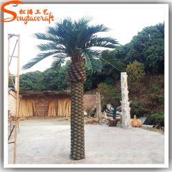 Garden Ornamental Fiberglass Artificial Date Palm Tree