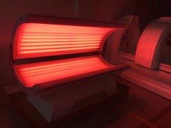 Base d'abbronzatura del solarium della baracca di sauna di Infrared lontano di terapia del fotone di PDT