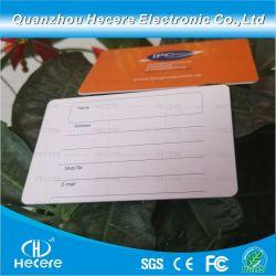 125KHz LF Tk4100 무접촉 PVC 스마트 RFID 액세스 카드