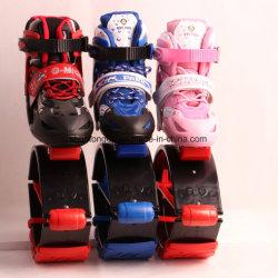 Le rebondissement sautant de danse de sauts de forme physique de chaussures de sport chaud de Kangoo chausse des jouets d'exercice