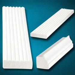 천장을%s 방수 백색 PVC 손질 그리고 주조
