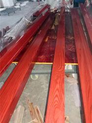 Du grain du bois d'impression de transfert de la machine pour le profil en aluminium pour la vente