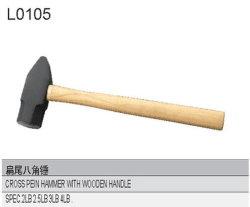 Martello trasversale di Pein con la maniglia di legno L0105