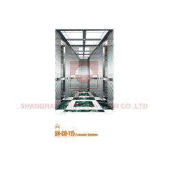 En acier inoxydable Miroir économique / cabine de luxe avec ascenseur (SN-CD-115)
