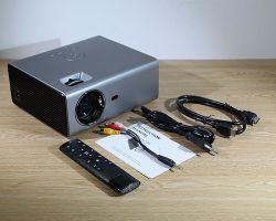 Proiettore del teatro domestico di Rd825 1280*720 Screenless TV mini video