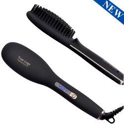 Ionic Hair Haarglätter Bürste Keramik Schnell Heizung Haarglättung Bürste Haarstil Eisen Werkzeuge