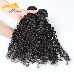 Um doador de cabelo humano barato Tecelagem de fio de cabelo Virgem Brasileira