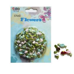 Свадебное декоративные ленты закрывается цветы (FRR-01)