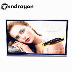 شاشة تلفزيون LCD لاسلكية بحجم 55 بوصة على الجدار شاشة العرض الرقمية LCD Digital Signage الجودة شاشة تلفزيون CCTV LCD كبيرة تعرض أفلاما إعلانية