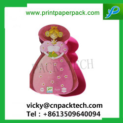 Bespoke Sweety Pink Irregular Shape Candy Box for Kids Little Girl favour Lollipop Cookie Packaging Box