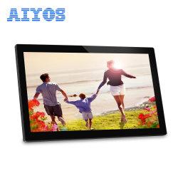 """Pantalla LCD de alta calidad POS Video Player 21.5"""" Marco de fotos digital con sensor de movimiento"""