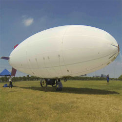 Im Freien lange Radar-Reichweiten-Deckel-riesige unbemannte Zelle-Non-Rigid Luftschiff für Überwachung-Auftrag
