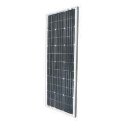 Panel de módulo de potencia solar de 100 vatios/mono/poly plegable de silicio de alta eficiencia para luz solar.