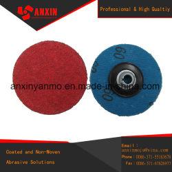 Cambio rápido de 50mm el acero inoxidable pulido de discos