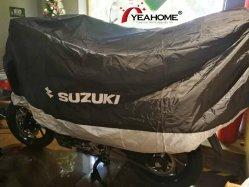 Крышка мотоциклов печать логотипа пэтчворк всех погодных Защитная крышка для Сузуки