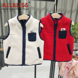 Allbliss Japanese Style Casual Kinderbekleidung warme Weste Freizeitkleidung