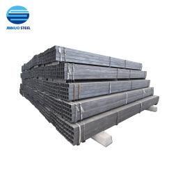 Meilleur Prix JIS G3452/DIN 1626/Q235/SS400/S235JR/20x20mm/25x50mm/Plain Fin/de/galvanisé peint/Square/rectangulaire ou clôture/Mobilier/Structure/SHS/ERS/Tube en acier