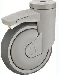 Nuevo diseño el orificio del tornillo tipo Medical Caster con freno