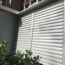 Jardin d'aération d'ombrage d'aluminium d'escrime du Louvre