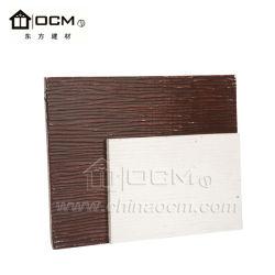 Ignifuge et oxyde de magnésium étanche du grain du bois d'administration le bardage