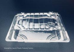 Commerce de gros de fruits de Sushi jetables de boîtes en plastique transparent