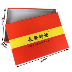 Papierkasten-Kappe und Unterseite für Tuch mit dem Einkaufen-Verpacken