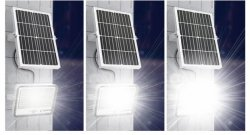 IP67 300W Outdoor Projecteur à LED des lampes solaires