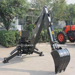 certificado CE de alta calidad de la Serie LW Lw-4 -LW-12 excavadora de la retroexcavadora para HP 12-180rueda de tractor de jardín Granja Agrícola
