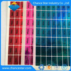 Stickers van het Hologram van de Matrijs van de PUNT van de Kleuren van het Etiket van de douane de Verschillende 3D