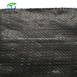 PP/PE/plástico agrícola tejida cubierta de tierra de jardín/Geotextile/contra el control de malezas barrera tejido/Mat