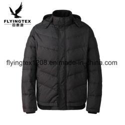 100%年のポリエステル男性/Women ' sの冬のジャケットOEMの防水コート