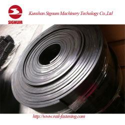 Compuesto de goma riel de acero elástico para la construcción de ferrocarriles