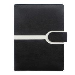 La conception personnalisée A5 en simili-cuir pour reliure à anneaux de couvrir l'ordinateur portable