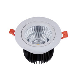 Bestes verkaufen7w 9W 12W Innenbeleuchtung vertieften PFEILER LED Downlight verdunkelnd
