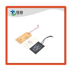 顧客用牛カード、黒いカード、白いカードロープの札