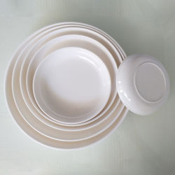 Plato saludable de la placa de la tabla de melamina hogar ecológico de la melamina Ware Ware