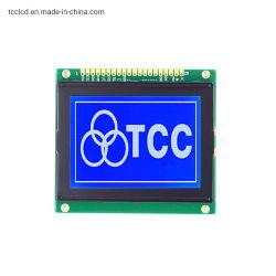 Blauer 128*64 LCD Bildschirm der LCM 12864 Monochrom PFEILERlcd-Bildschirmanzeige-