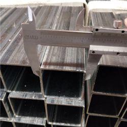 Легкий вес Cold-Rolled пред оцинкованных цинкового покрытия квадратная стальная труба и труба